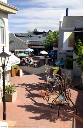 Knysna Townscape Woodmill Lane Shopping Centre